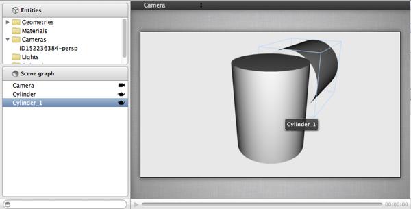 3D Scene Editor