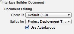 Xcode5 Use New Xib File Format