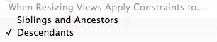 Xcode 5 Autolayout Resizing