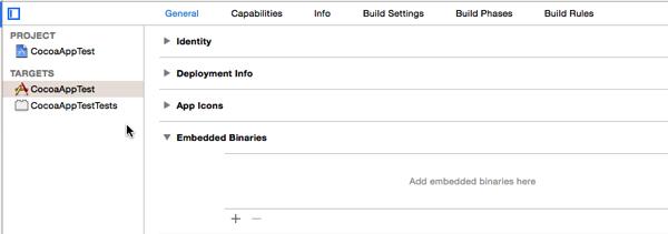 Embedded Binaries