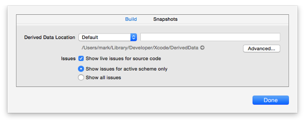 Xcode6ProjectSettings